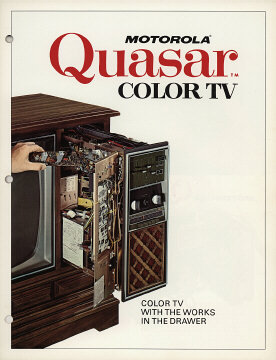 Motorola Quasar TV ad