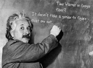 Einstein on Time Warner
