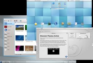 Linux KDE GUI