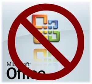 No Microsoft Allowed
