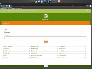 Midori browser Bodhi Linux