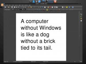 LibreOffice Writer Bodhi Linux Legacy