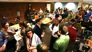 LibrePlanet serving room