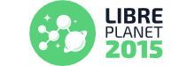 Libre Planet 2015 logo