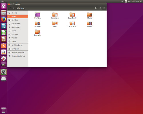 Ubuntu File Manager 15.04