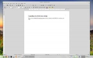 Linux Mint Rebecca LibreOffice