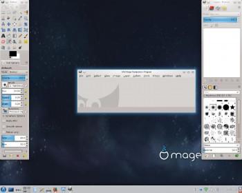 Mageia 5 GIMP