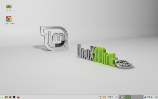 Linux Mint Xfce default desktop