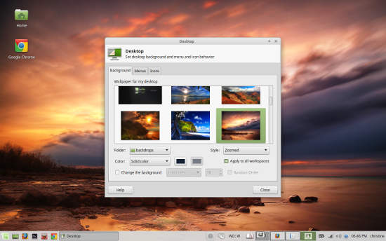 Linux Mint 17.2 Xfce Wallpaper