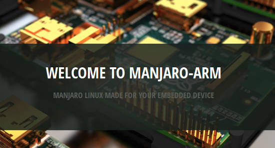 Manjaro Arm welcome