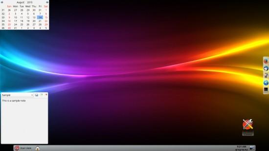 Lumina Desktop screenshot