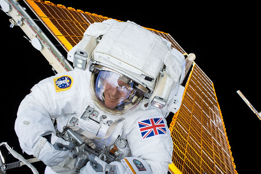 Timothy Peake brings Raspberry Pi to space