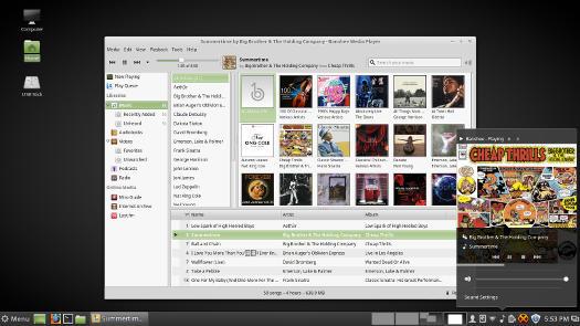 Linux Mint 18 Cinnamon Banshee