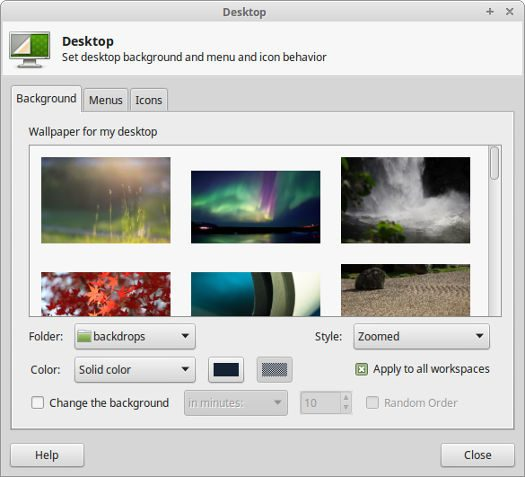 Linux Mint wallpaper background
