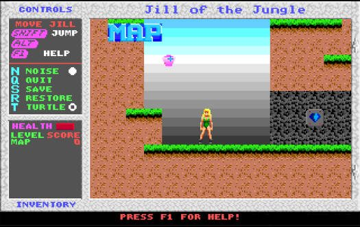 Jill of the Jungle FreeDOS