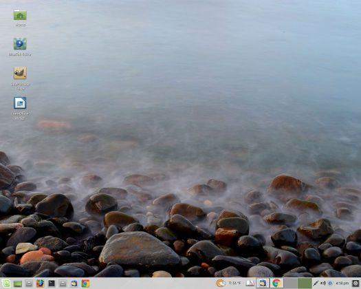 """screenshot Linux Mint 18 """"Sarah"""""""
