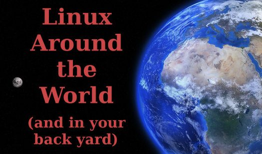 Linux, supported around the world