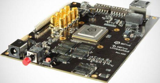 Open source RISC-V processor on a SBC