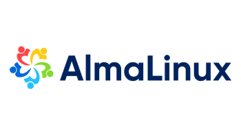 AlmaLinux logo.